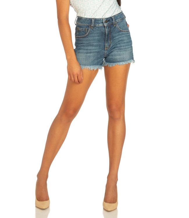 Guess Vintage Mom Shorts - APOLLO BLUE