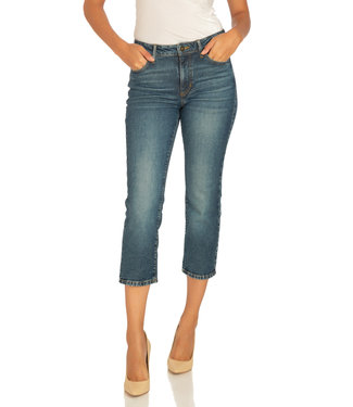 Guess 1981 Straight Crop Jeans - SHATTER BLUE