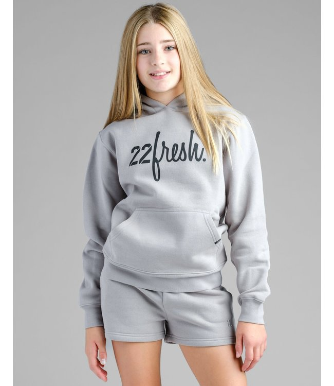 22Fresh YOUTH City Heights Hoodie - CEMENT