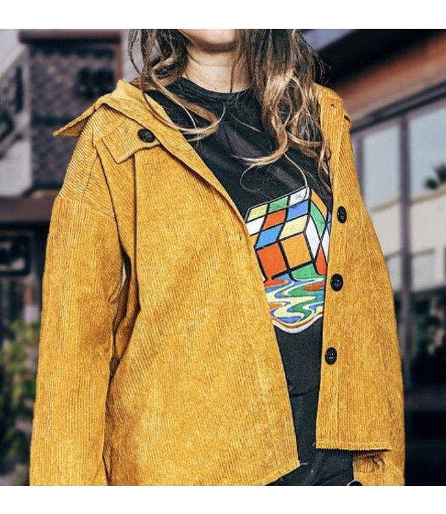 #wearfnf Jacket-oe YELLOW