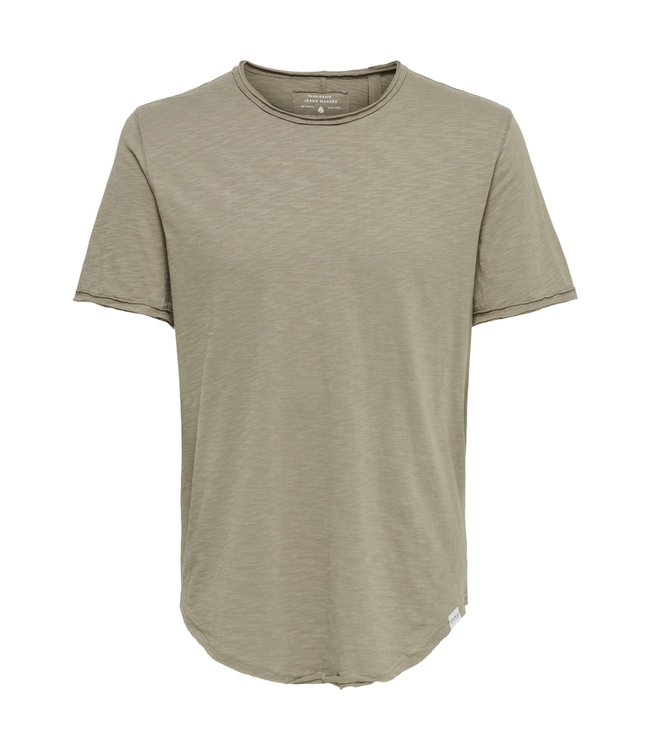 Only & Sons BENNE Life Tee - BRINDLE