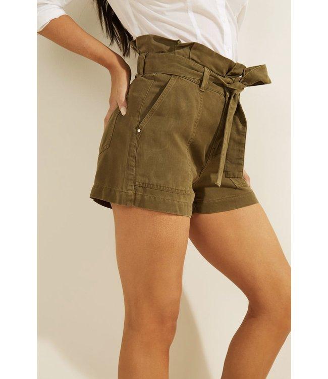Guess Janna Shorts - ARMY SAGE