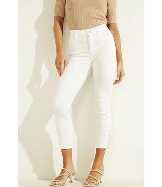 Guess 1981 Skinny Zip Jean - WHITE