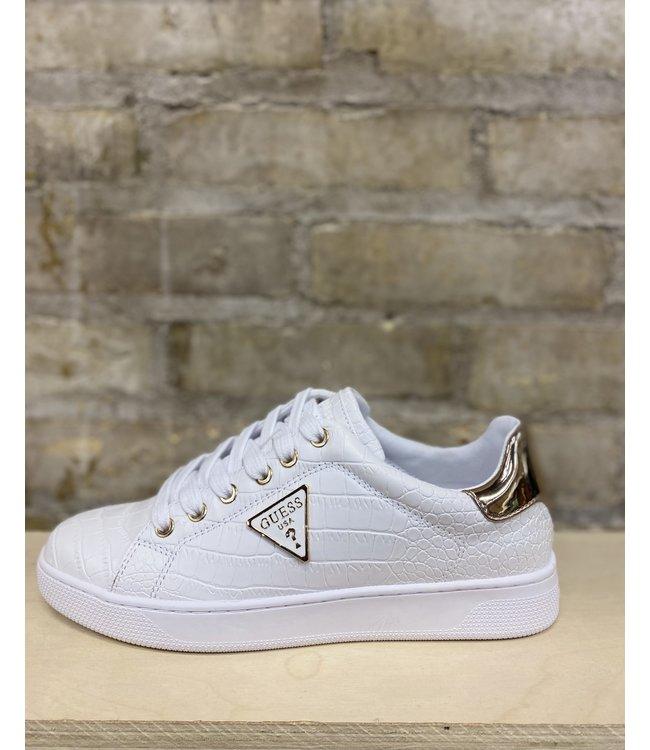 Guess Croco Kicks - WHITE