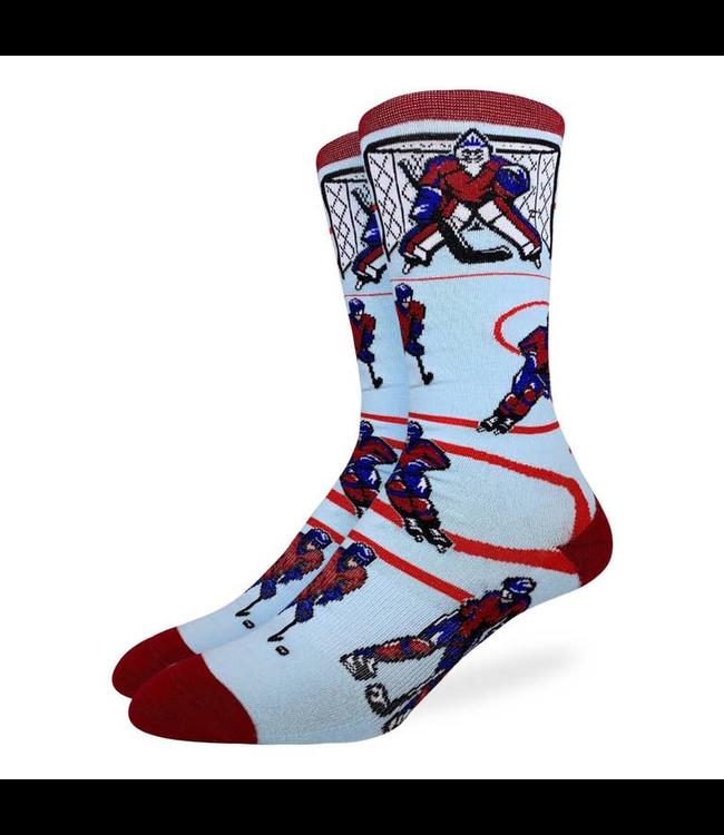Good Luck Sock Hockey, Red & Blue Socks