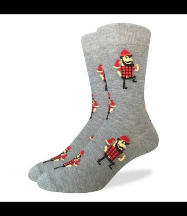 Good Luck Sock Lumberjack Socks