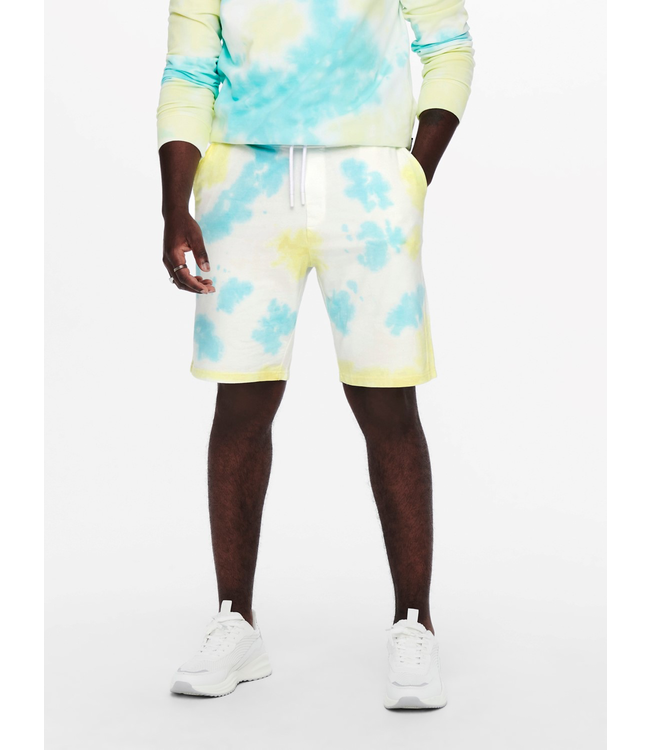 Only & Sons LOU Sweat Shorts - ISLAND PARADISE