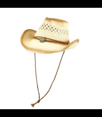 #wearfnf Cowboy Straw Hat - KHAKI
