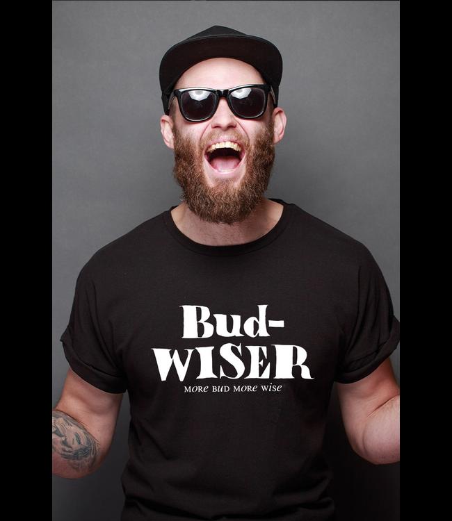 #wearfnf Bud Wiser T-shirt - BLACK