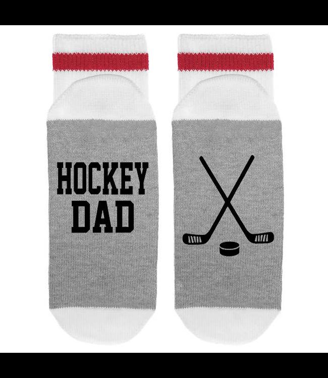 Sock Dirty To Me SOCKS - Hockey Dad with Hockey Sticks