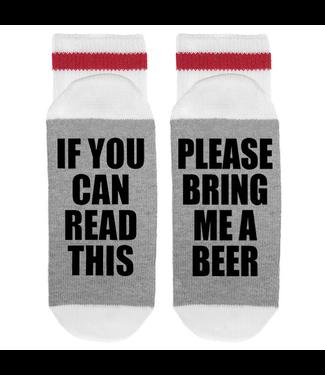 Sock Dirty To Me SOCKS - Please Bring Me a Beer
