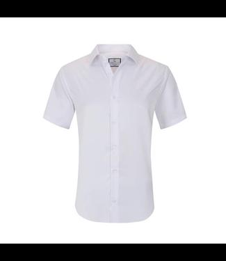 #wearfnf Short Sleeve Button Down Shirt - WHITE-1