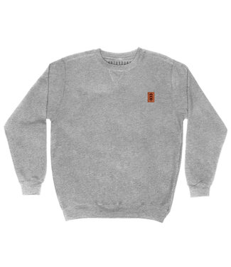 Northbound Supply Co. Leather Patch Crew Neck -