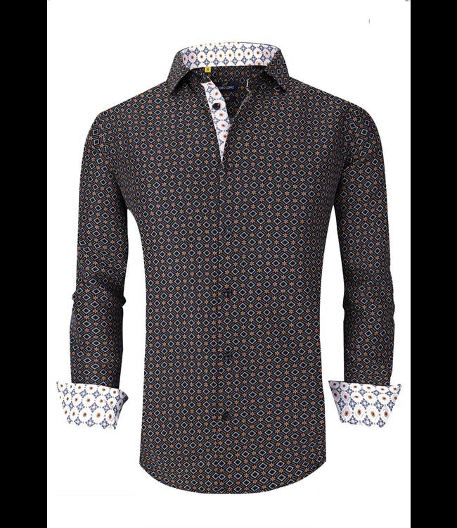 #wearfnf Sport Shirt L/S - 2 BLACK -
