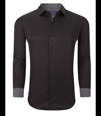 #wearfnf Sport Shirt L/S - 0 BLACK -