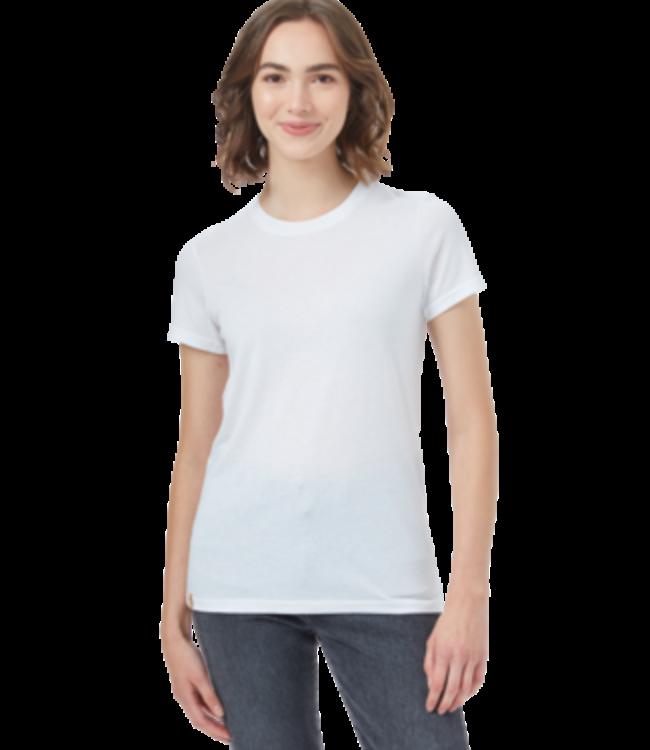 Ten Tree TreeBlend Classic  T-Shirt  - WHITE