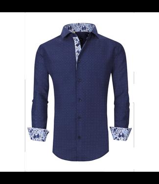 #wearfnf Button Down Shirt -  6 NAVY