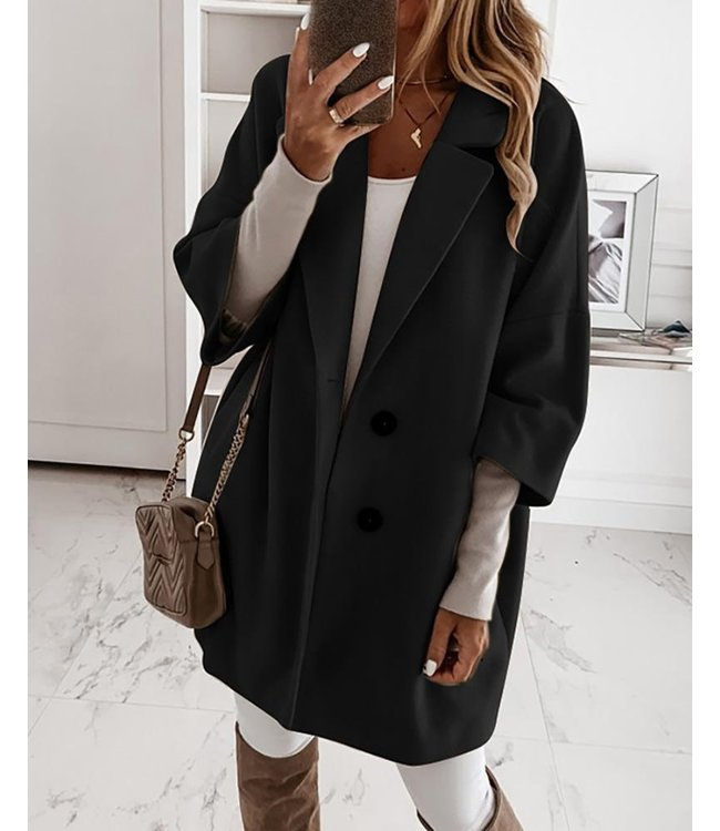 #wearfnf Classic Coat - BLACK