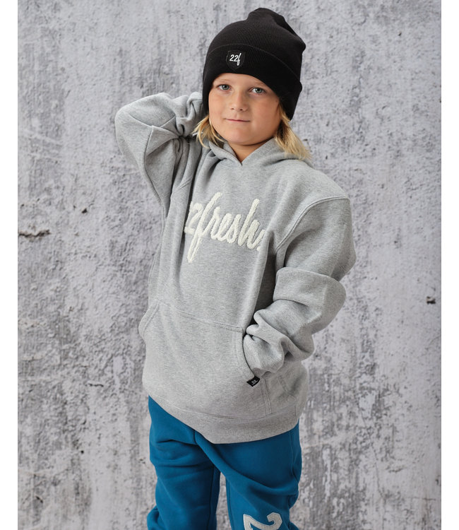 22Fresh YOUTH Alma Mater Chenille Hoodie -