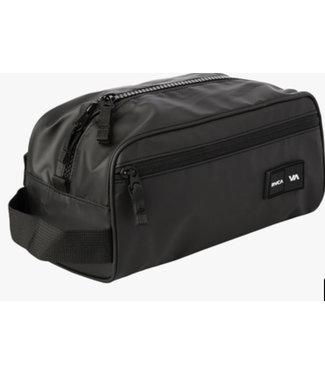 RVCA Dopp kit Cosmetic Bag - BLACK