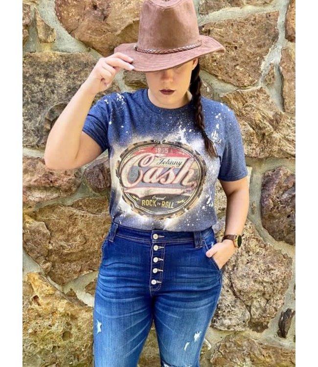 #wearfnf Cash T-Shirt - Heather Navy