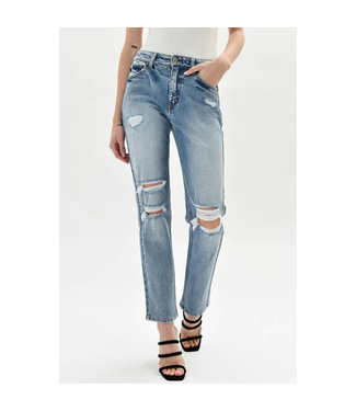 Kan Can High Rise Slim Straight 173M -