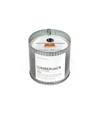 #wearfnf Lumberjack Rustic Vintage Candle