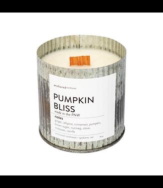 #wearfnf Pumpkin Bliss Rustic Vintage Candle