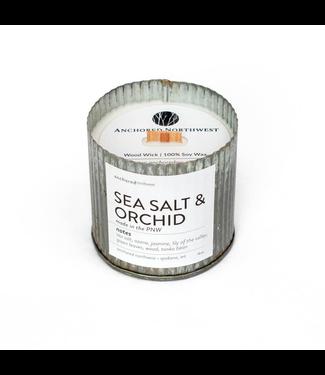 #wearfnf Sea Salt & Orchid Rustic Vintage Candle