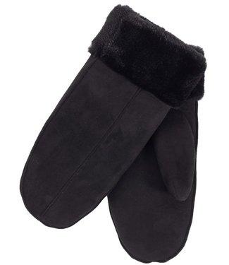 #wearfnf Mittens Faux Fur -