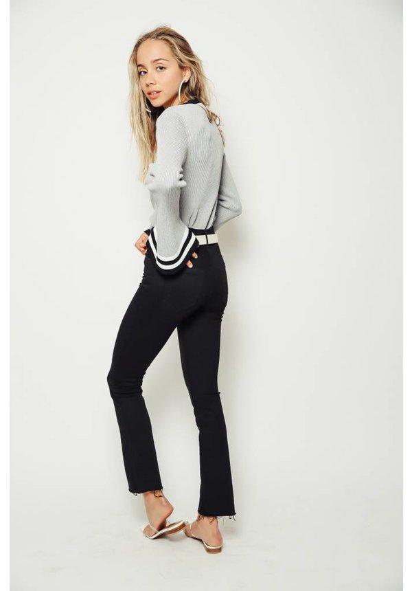 CAARA Bell Sleeve Sweater Top