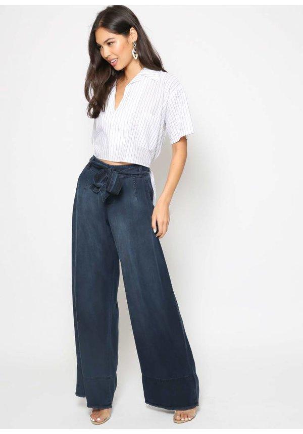 Bella Dahl Belted Wide Leg Pant