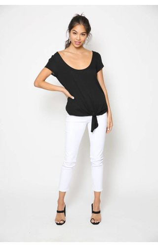 Heather Heather Maryann Hacci Tie Tee