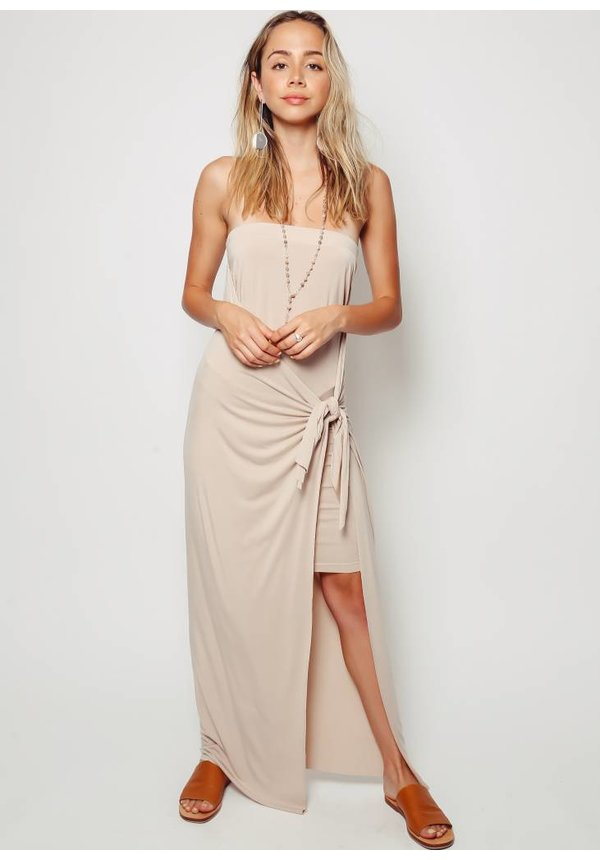 Laura Siegel Jersey Wrap Dress