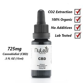 NuLeaf CBD Oil 15ml   725mg