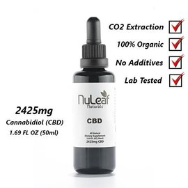 NuLeaf CBD Oil 50ml  2425mg