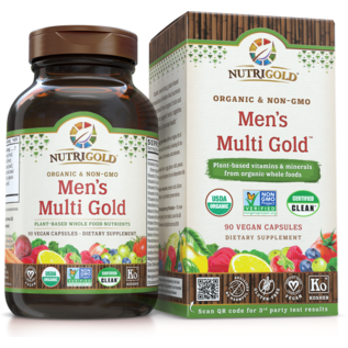 NutriGold Men's Multi Gold   90 vcaps