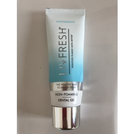 LIVIONEX New label - LIVIONEX Livfresh Dental Gel  *  Peppermint  *  1.75oz Tube