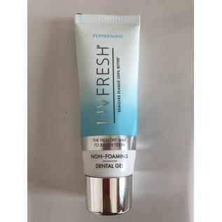 LIVFRESH Dental Gel by Livionex * Peppermint * 6 Tube Pack