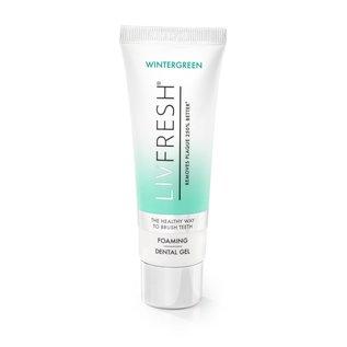 LIVFRESH LIVFRESH Dental Gel by Livionex *  Wintergreen  *  1.75oz Tube  *  foaming gel