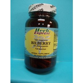 HERB EXPRESS Bilberry 60 Veggie Capsules