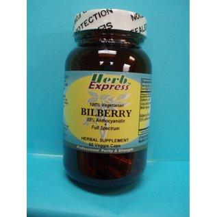 Bilberry 60 Veggie Capsules Vitamin Express