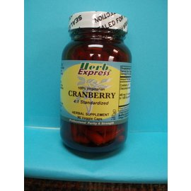 HERB EXPRESS Cranberry 90 Veggie Capsules