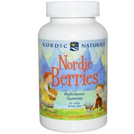 NORDIC NATURALS Nordic Berries Original 120chews