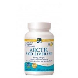 Arctic Cod Liver Oil Lemon 180sg