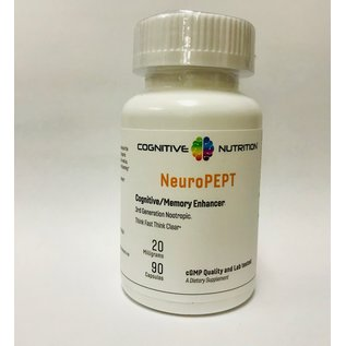 COGNITIVE NUTRITION NeuroPEPT 20 mg  90 caps