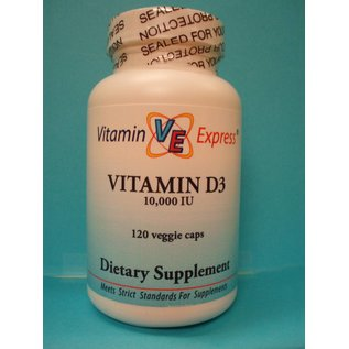 VITAMIN EXPRESS D3 10,000iu 120v