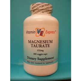 VITAMIN EXPRESS Magnesium Taurate 180v