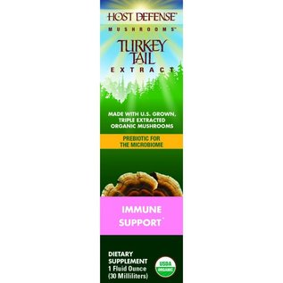 Host Defense Turkey Tail Extract 1oz