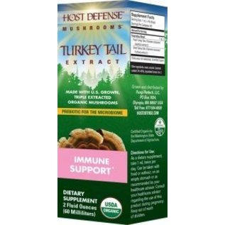 Host Defense Turkey Tail Extract 2oz